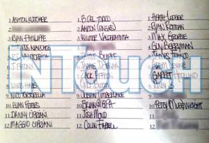 Lindsay Lohan List