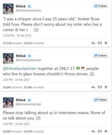 Khloe-Kardashian-Amber-Rose-Tweets-1